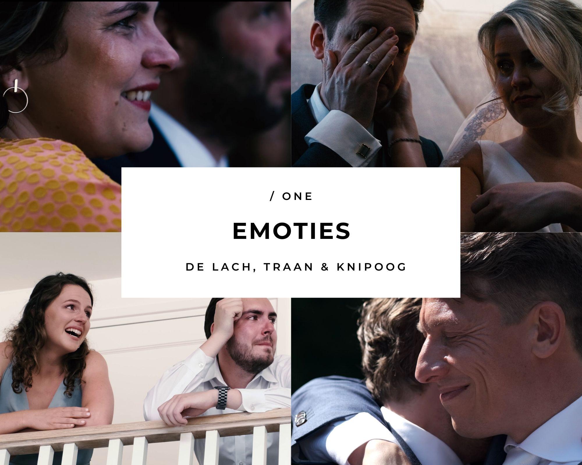 Bruiloft emoties